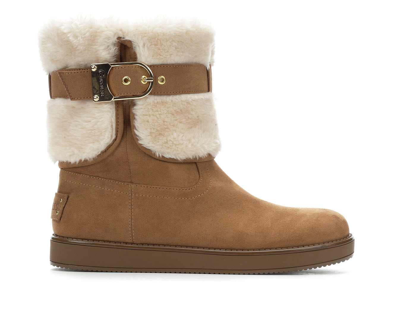 G By Guess Aussie Women's Boots (Brown - Canvas)
