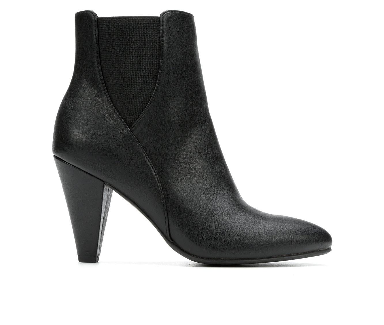 David Aaron Pharaoh Women's Boot (Black Faux Leather)