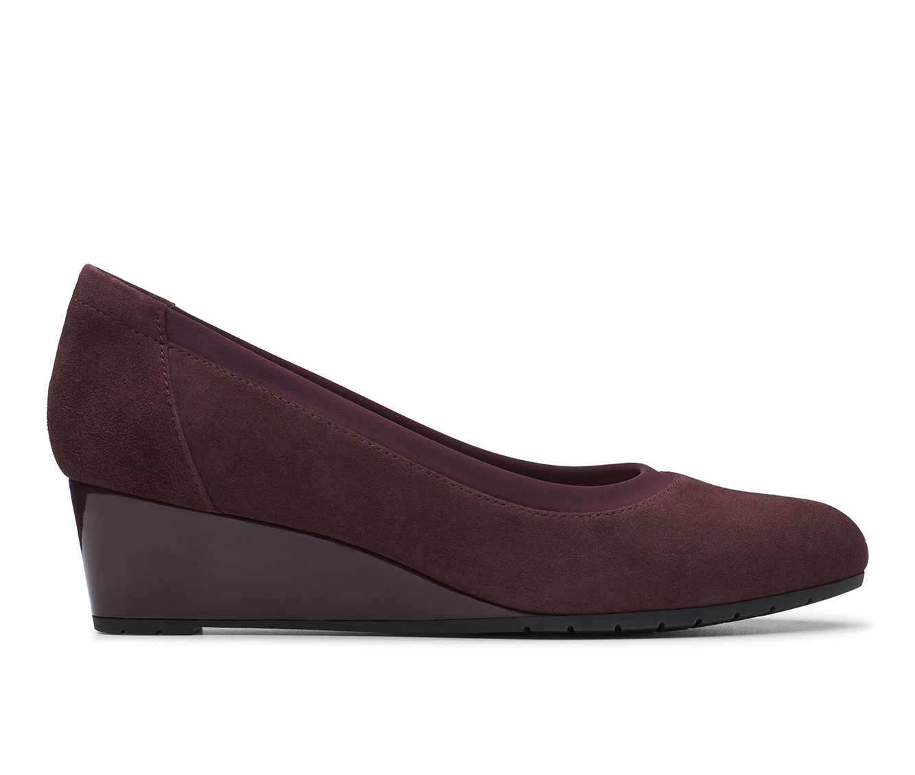 Clarks Mallory Berry Women's Dress Shoe (Red Leather)
