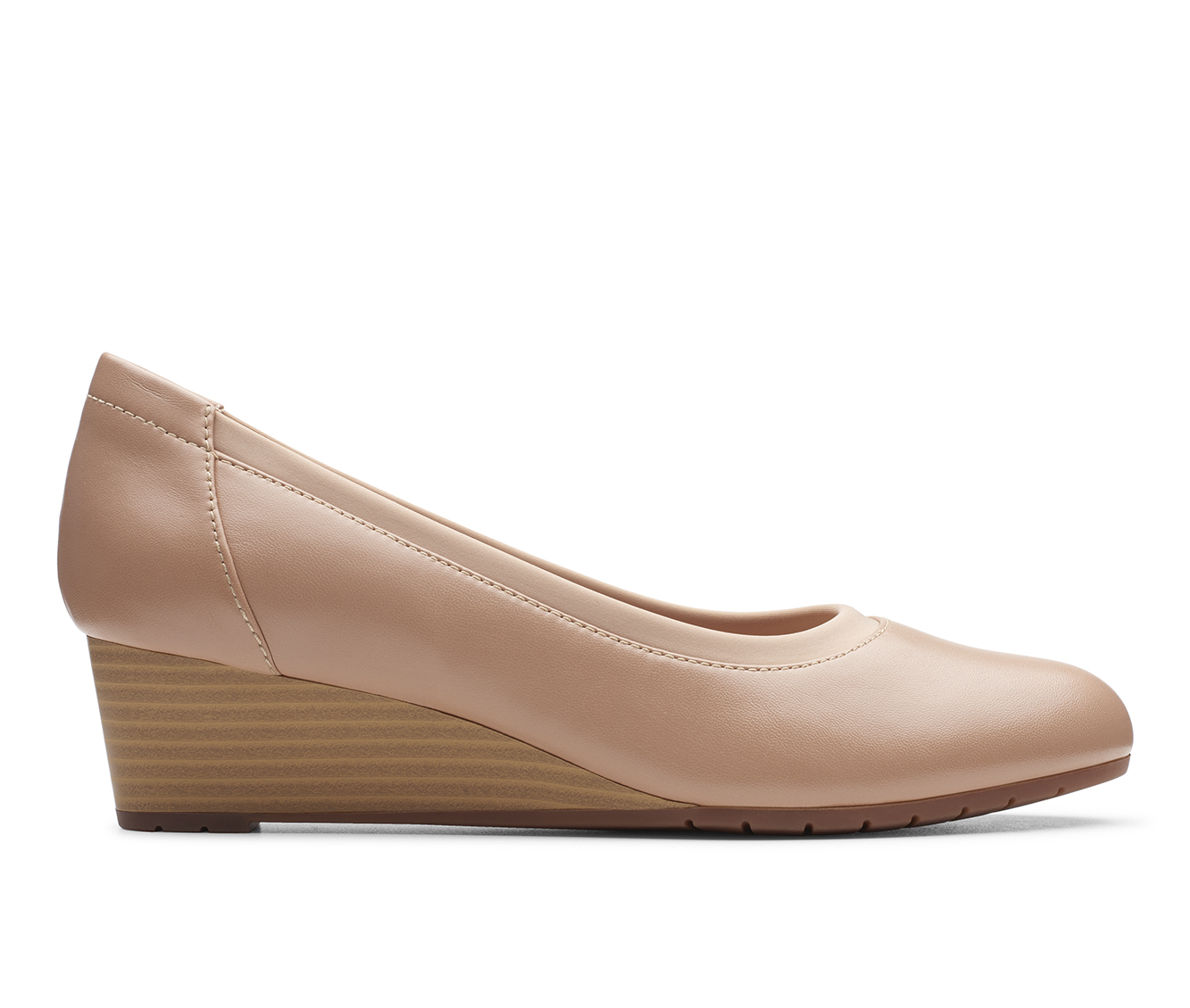 Clarks Mallory Berry Women's Dress Shoe (Brown Leather)