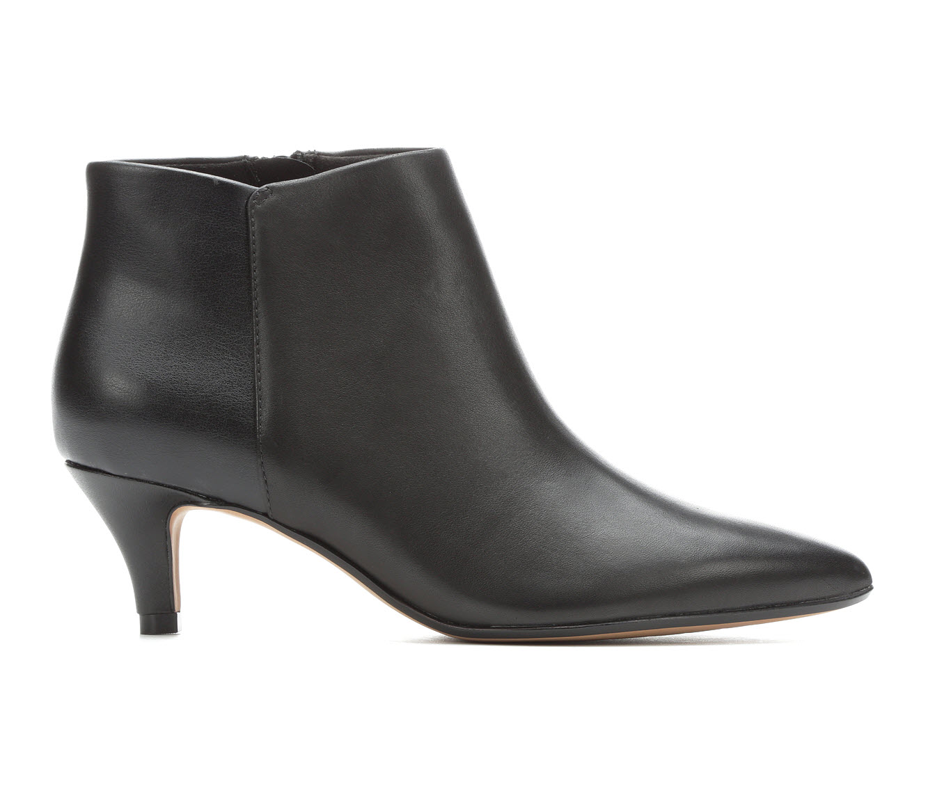 Clarks Linvale Sea Women's Dress Shoe (Black Leather)
