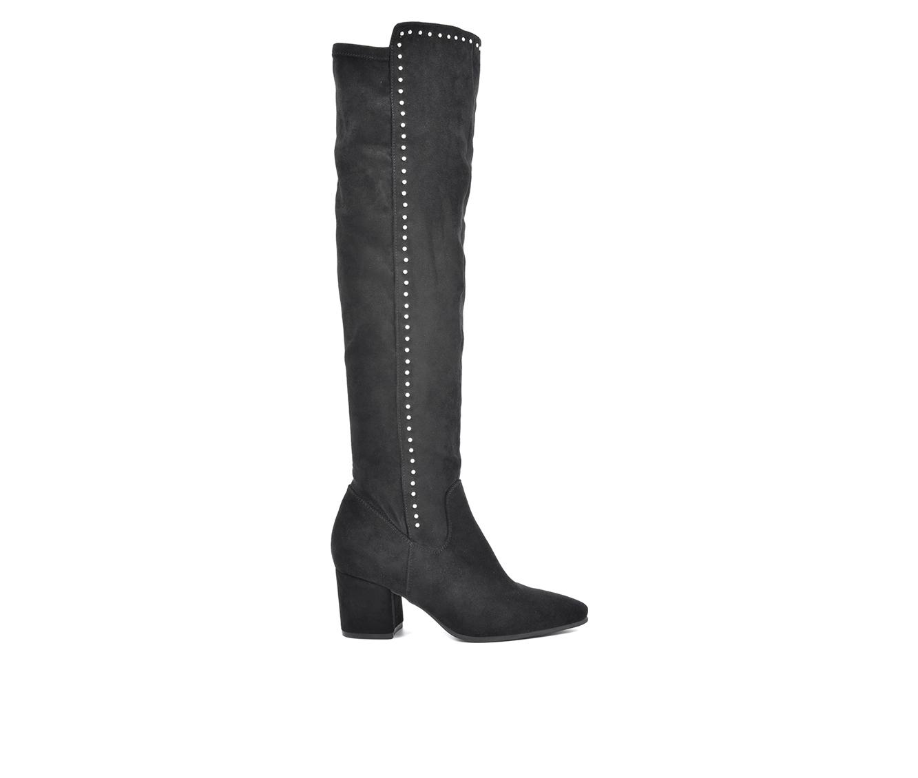 Seven Dials Nessie Women's Boot (Black Faux Leather)