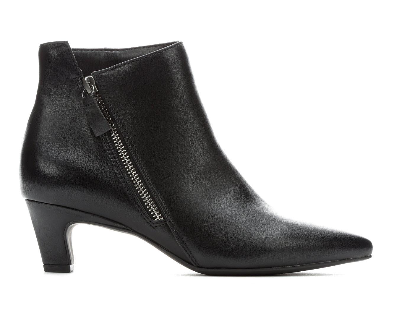 Seven Dials Coralie Women's Boots (Black - Faux Leather)