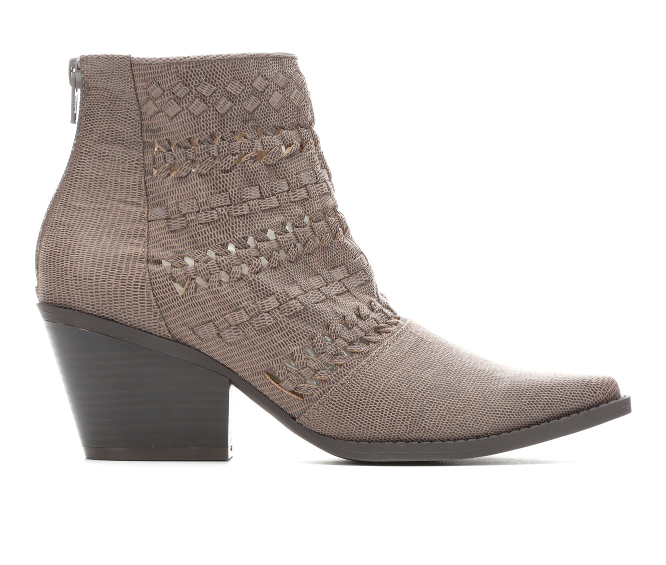 Seven Dials Quinn Women's Boot (Gray Faux Leather)