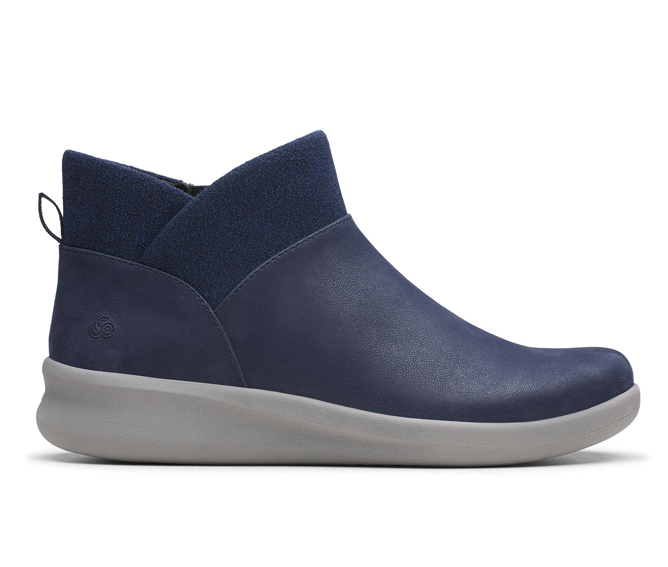 Clarks Sillian 2.0 Dusk Women's Boot (Blue Canvas)