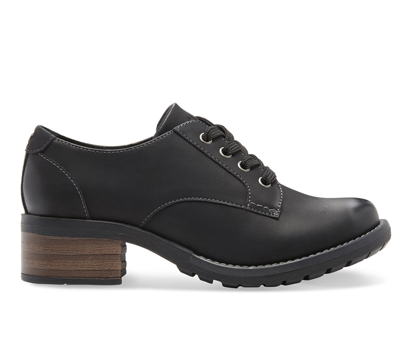 Eastland Trish Women's Shoe (Black Leather)