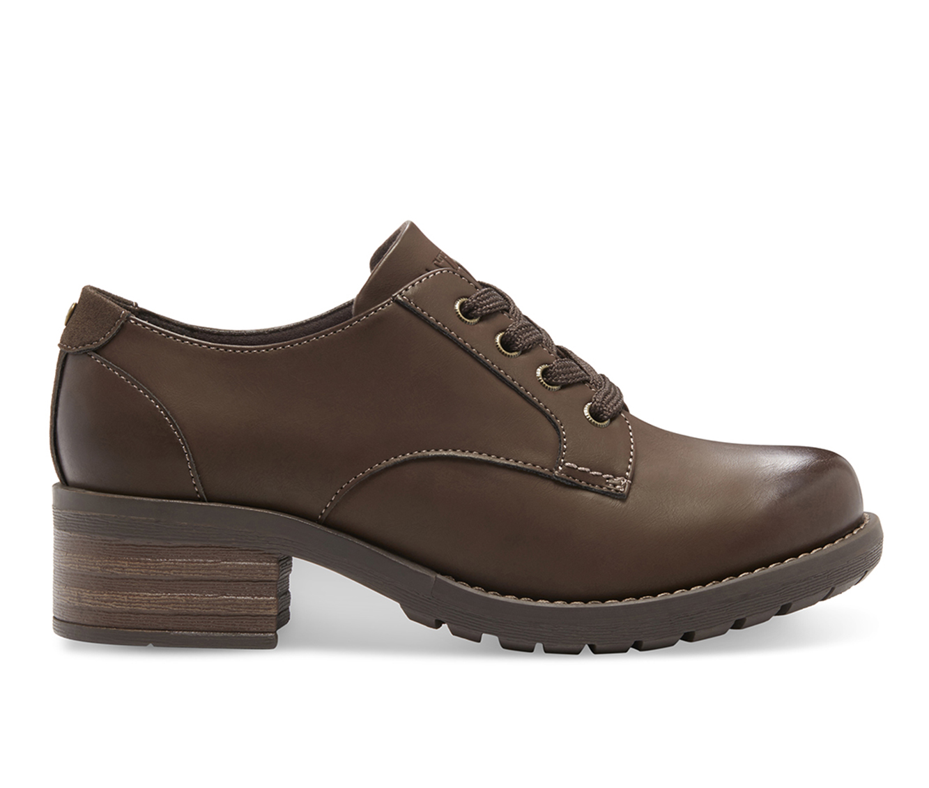Eastland Trish Women's Shoe (Brown Leather)