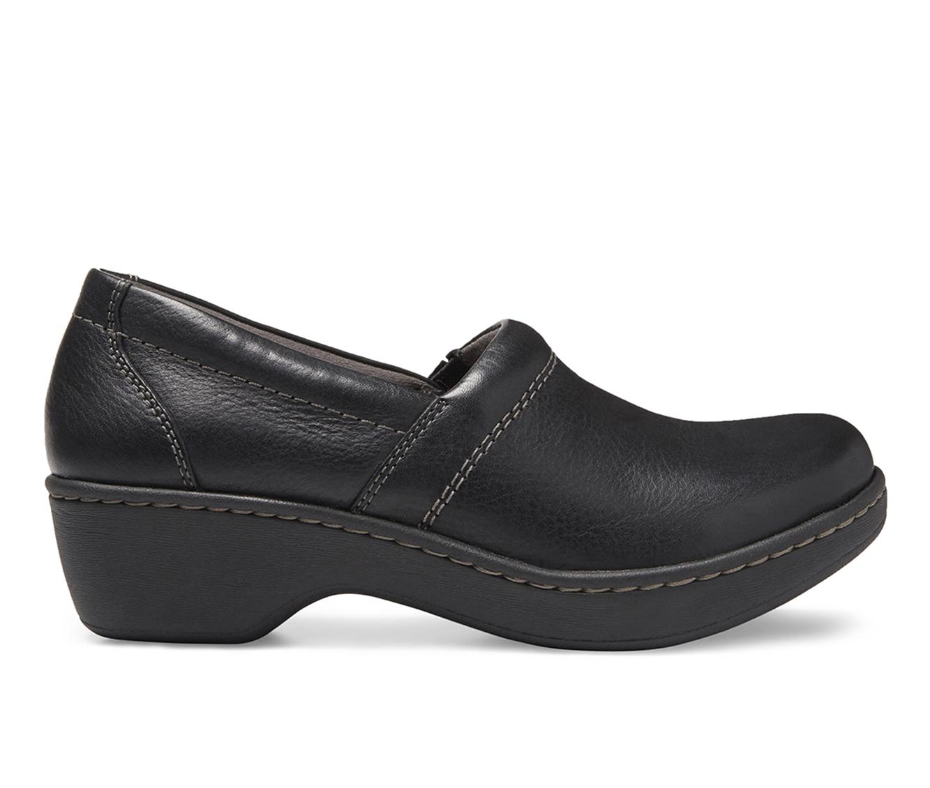 Eastland Constance Women's Shoe (Black Leather)