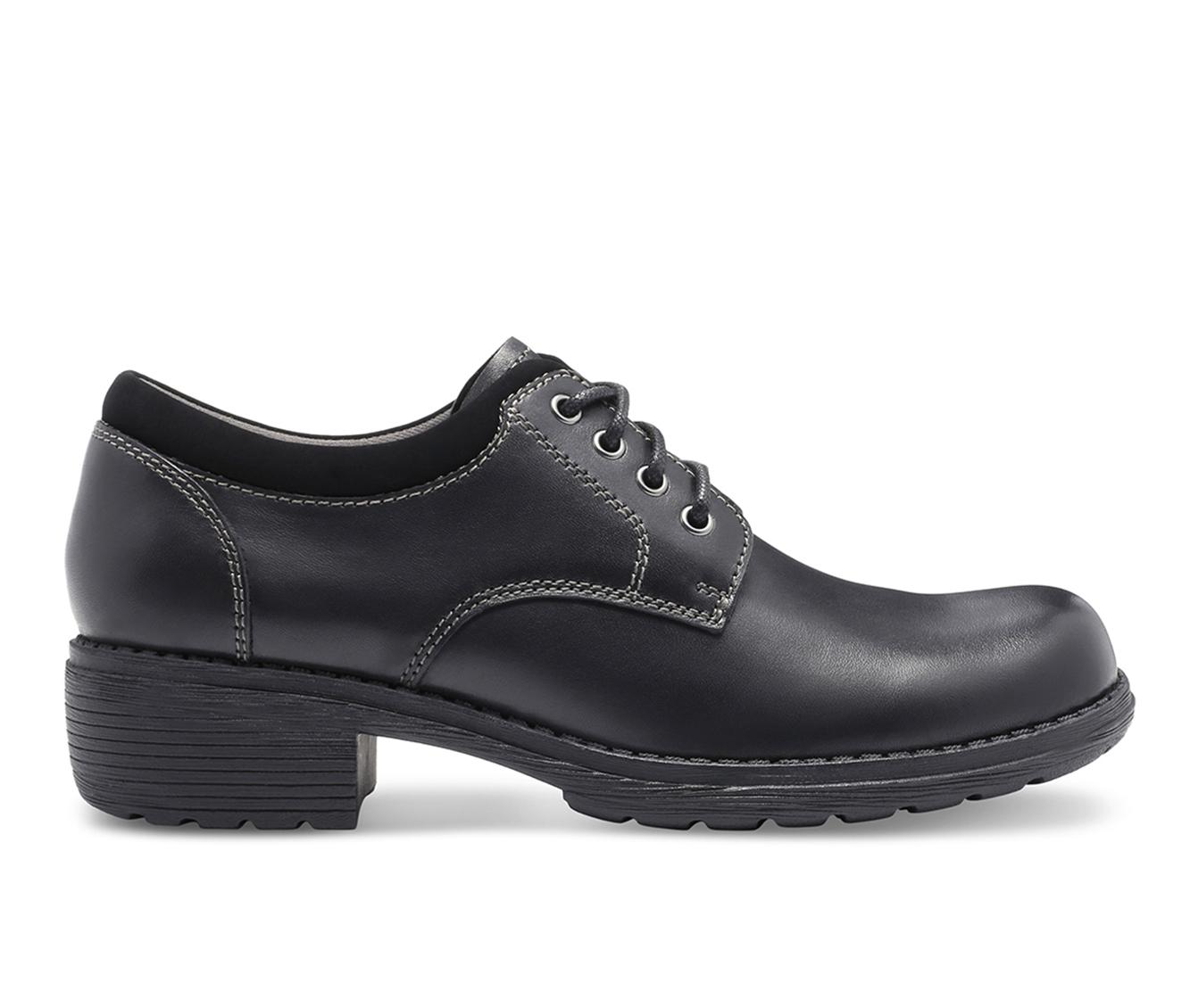 Eastland Stride Women's Shoe (Black Leather)