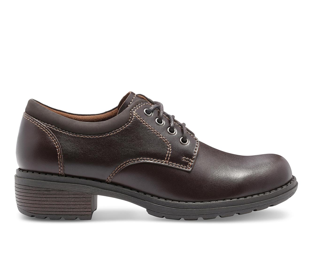 Eastland Stride Women's Shoe (Brown Leather)