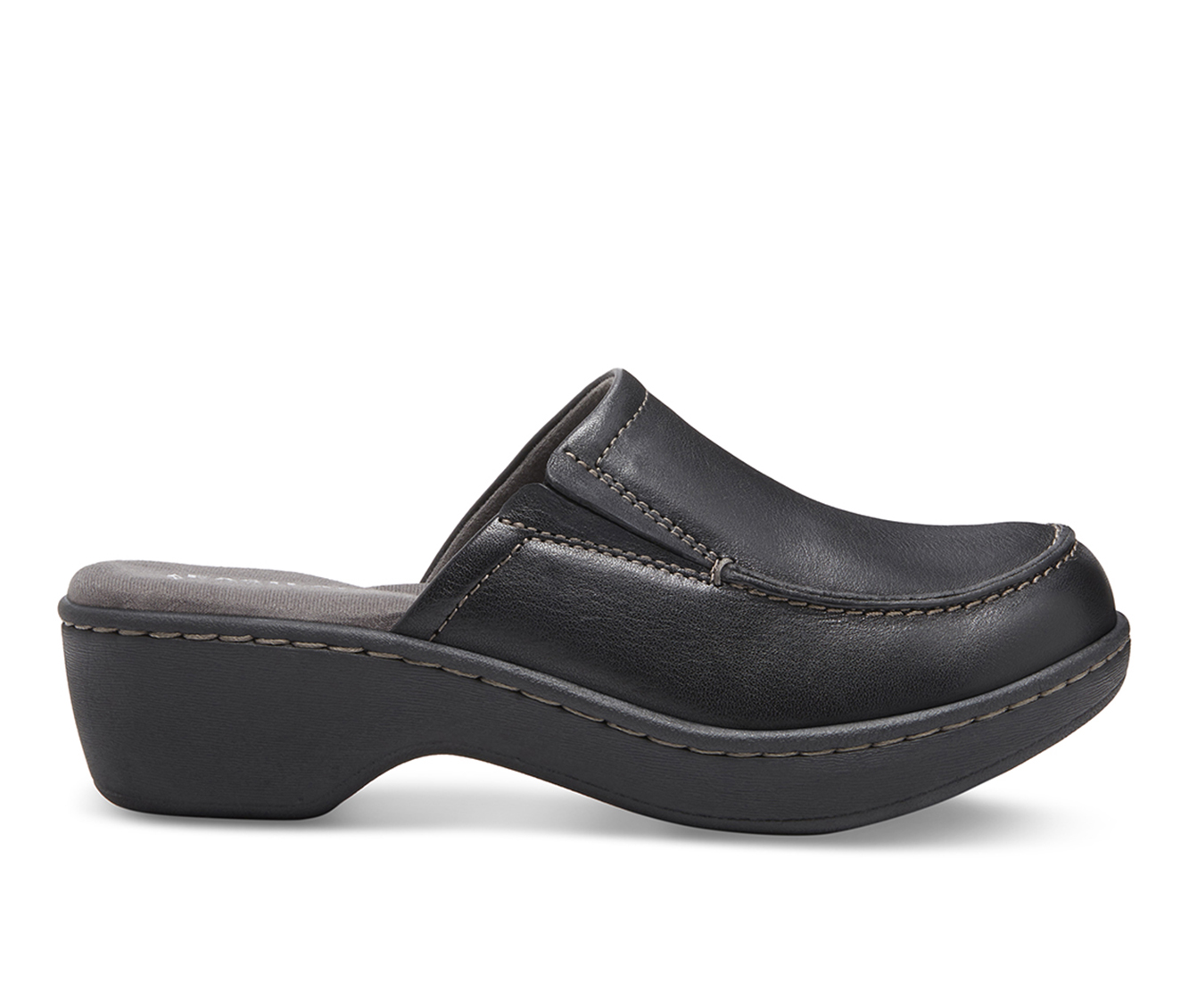 Eastland Georgia Women's Shoe (Black Leather)