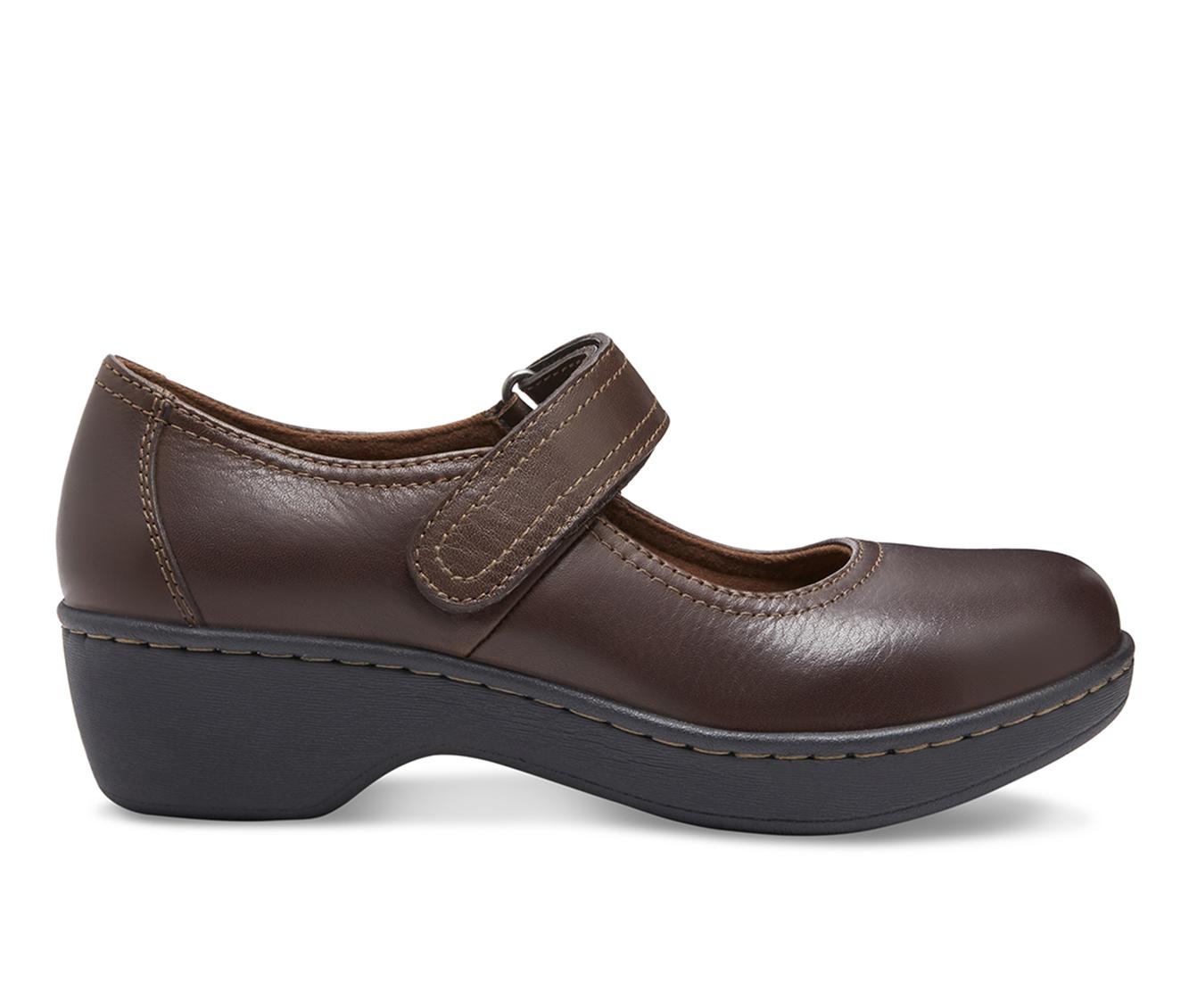 Eastland Gloria Women's Shoe (Brown Leather)
