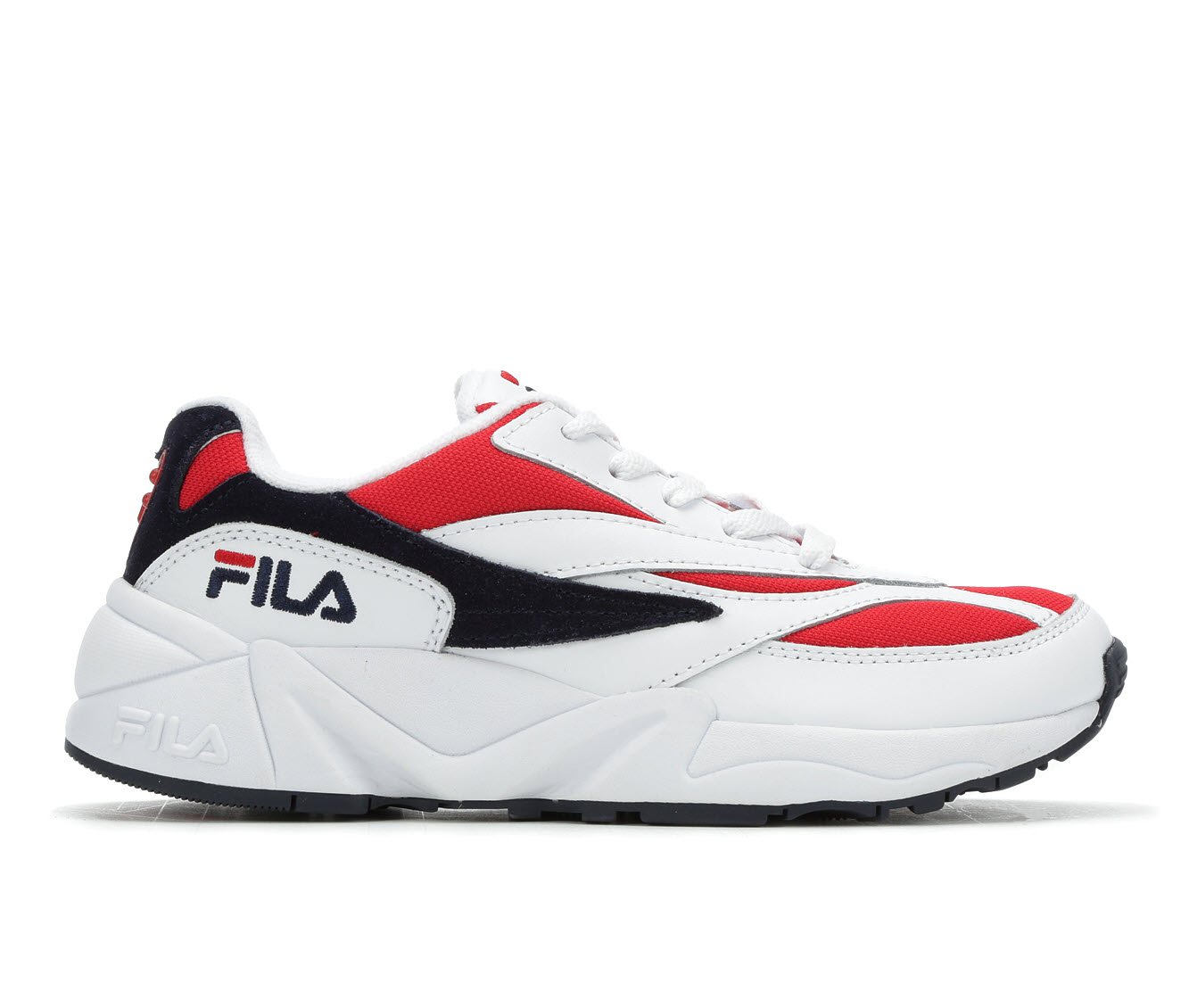 Fila V94M Women's Athletic Shoe (Red)