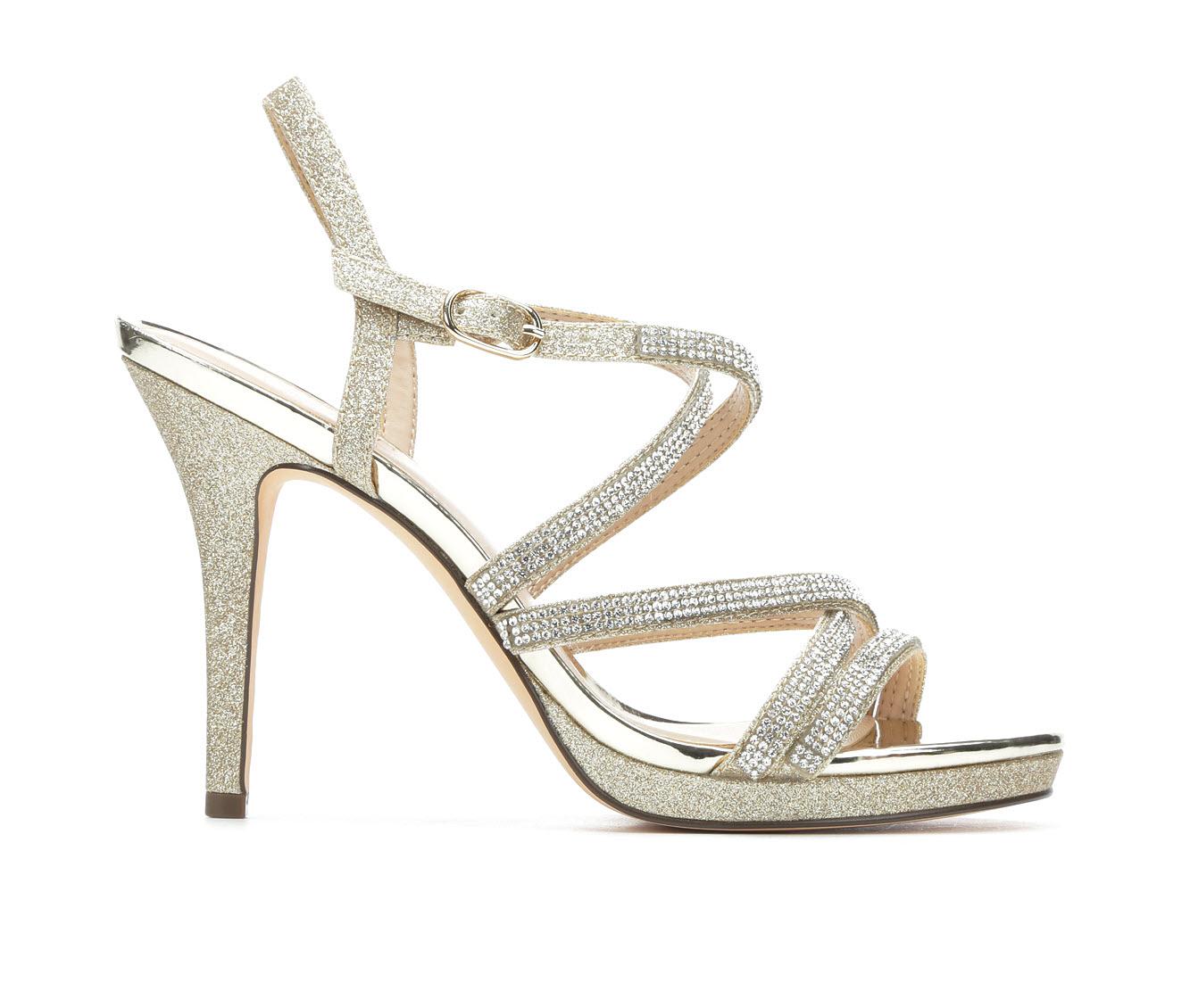 Touch Of Nina Rami Women's Dress Shoe (Gray GLASS UPPER)