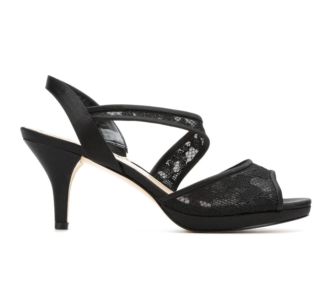 Touch Of Nina Nally Women's Dress Shoe (Black Canvas)