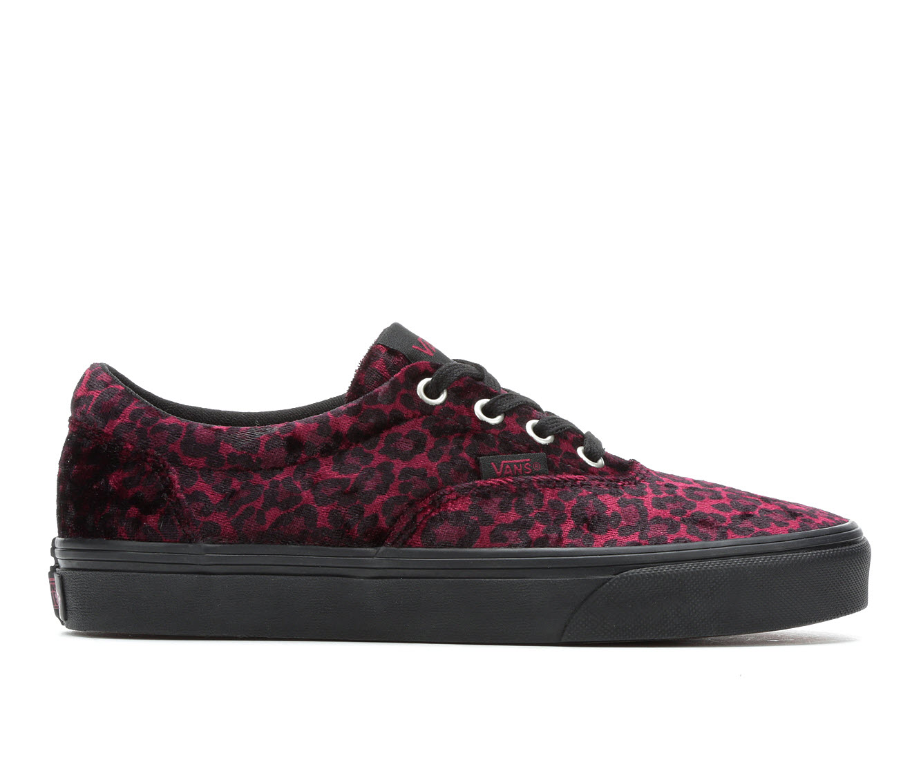 Vans Doheny Cozy Animal Women's Athletic Shoe (Red)