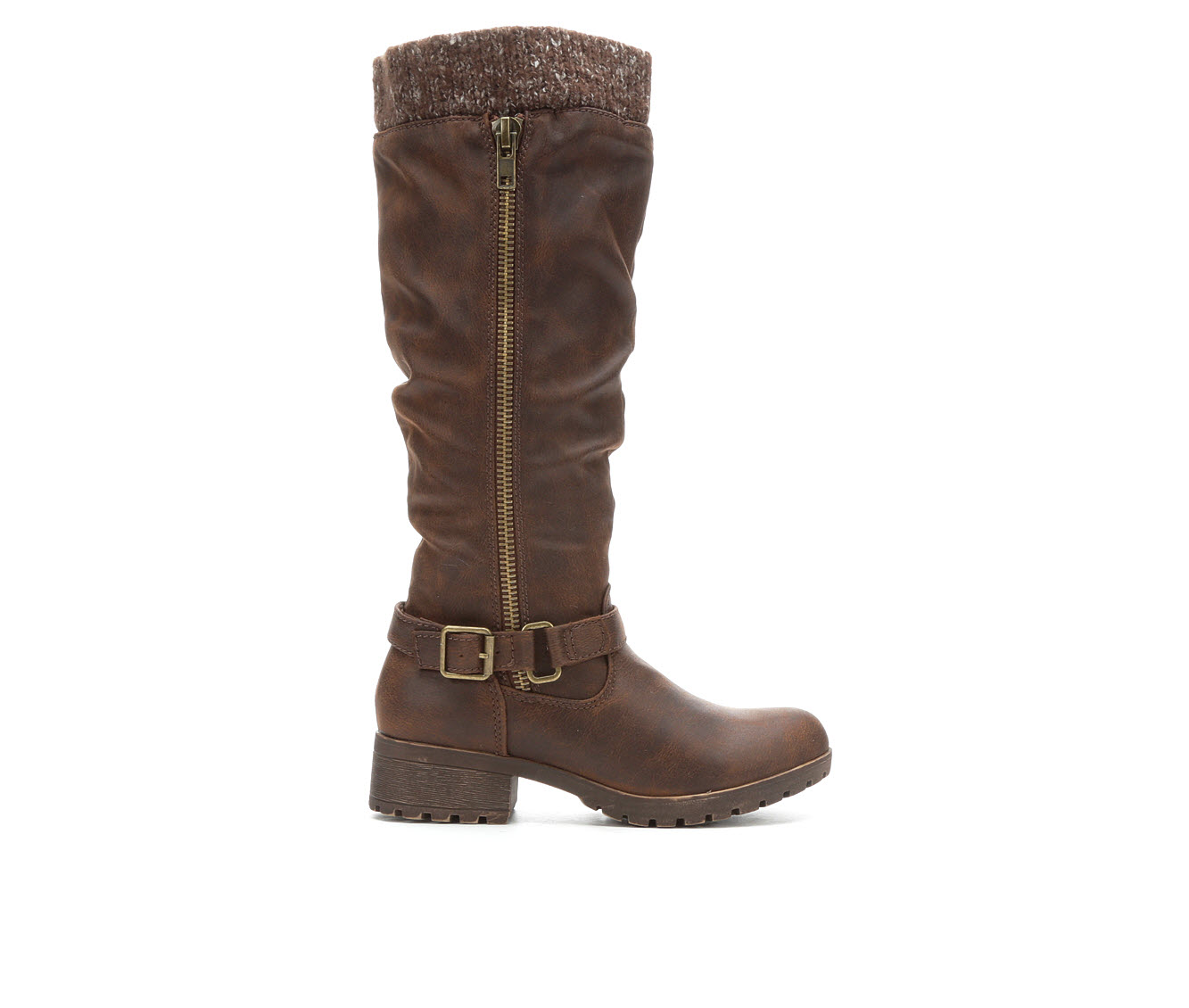 Sugar Rhubixx Women's Boot (Brown Canvas)
