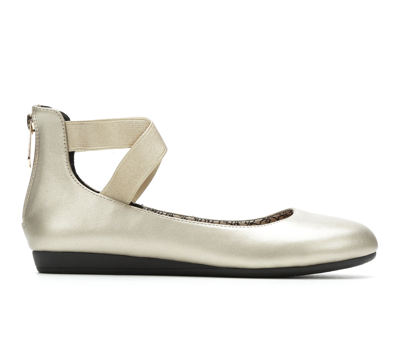 Daisy Fuentes Russo Women's Shoe (Gold Canvas)