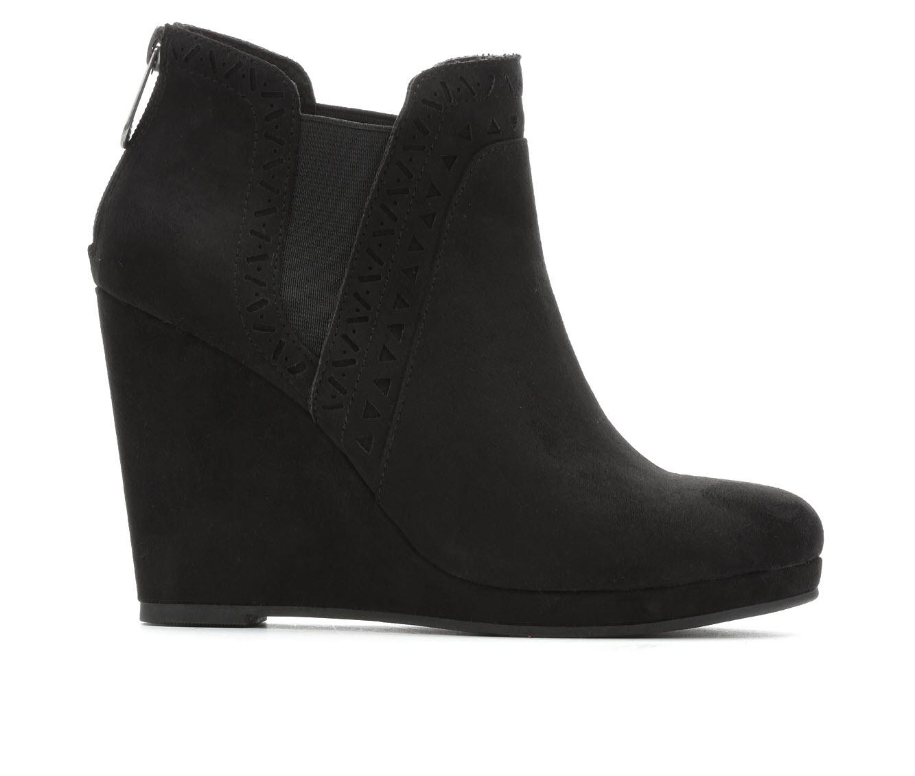 Daisy Fuentes Romance Women's Boots (Black - Canvas)