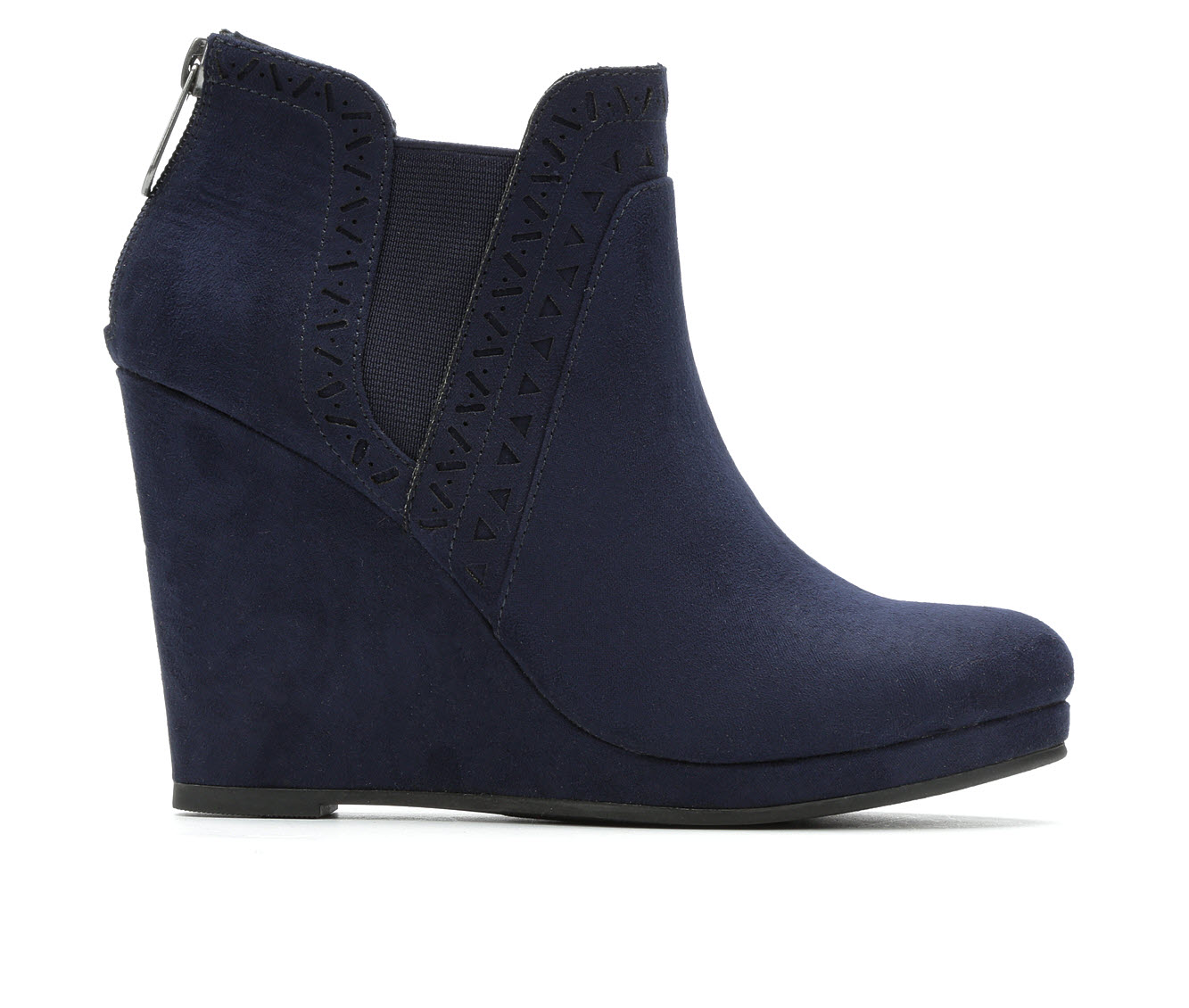Daisy Fuentes Romance Women's Boots (Blue - Canvas)