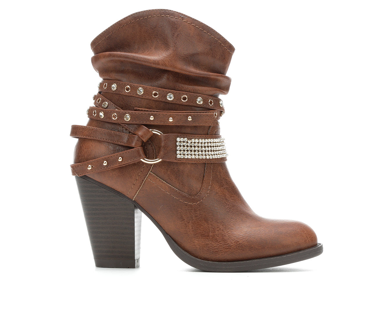 Daisy Fuentes Winston Women's Boots (Brown - Faux Leather)