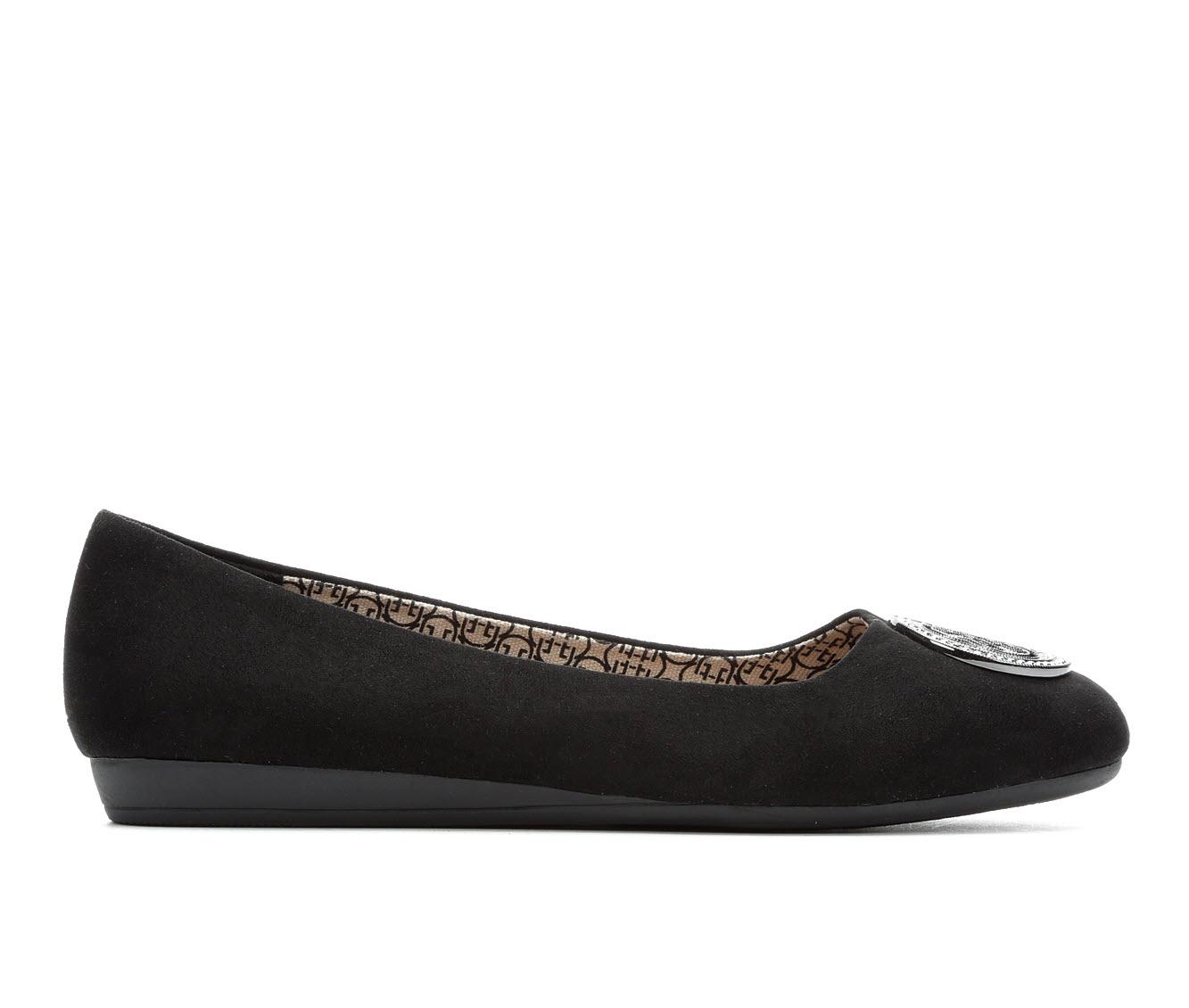 Daisy Fuentes Ricca Women's Shoe (Black Canvas)