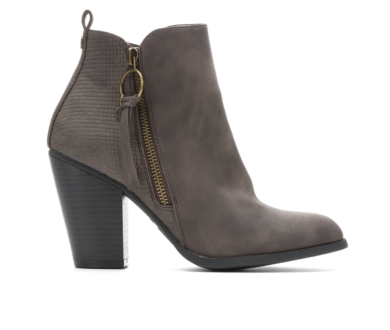 Daisy Fuentes Clay Women's Boot (Brown Faux Leather)
