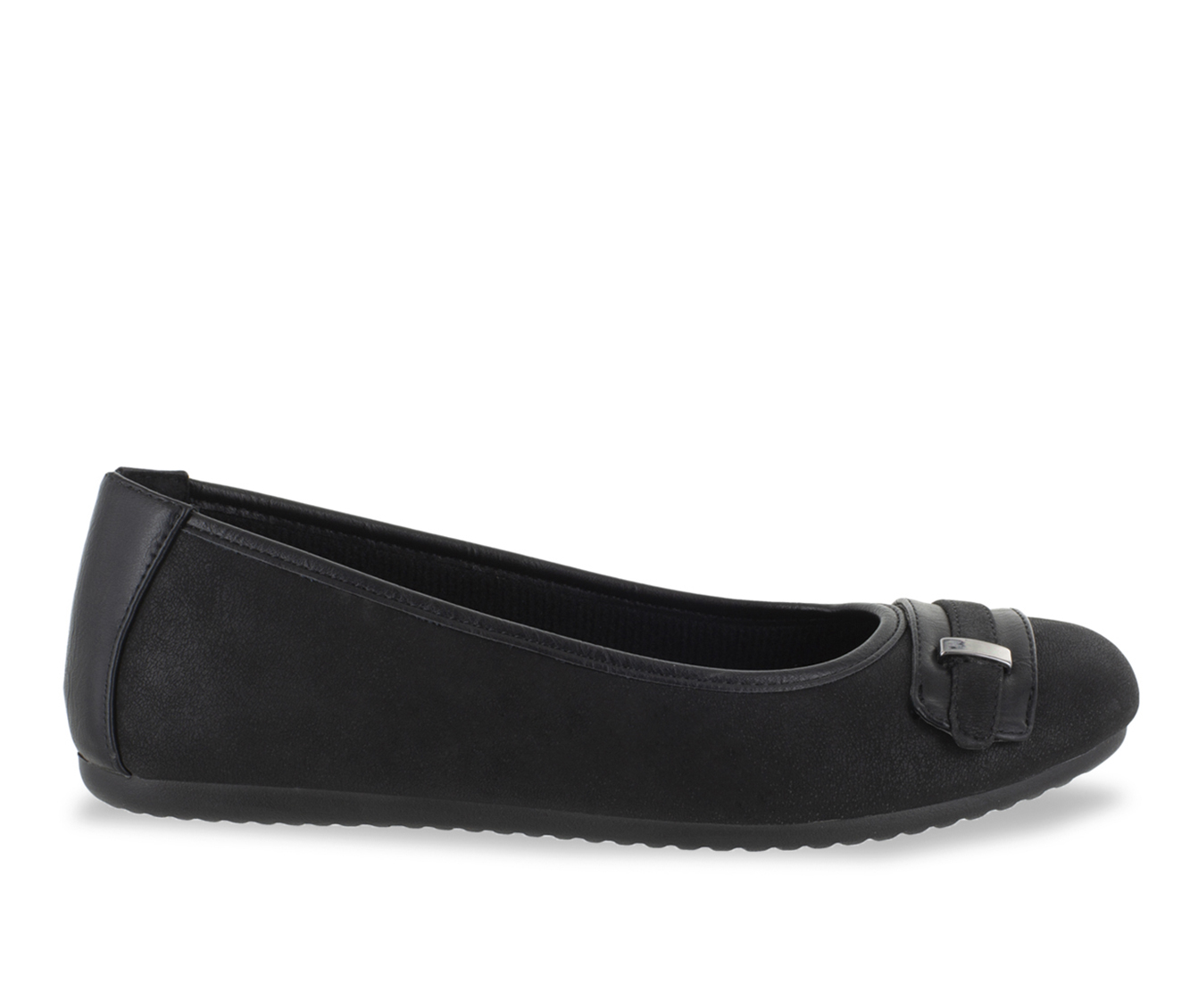 Easy Street Angie Women's Shoe (Black Faux Leather)