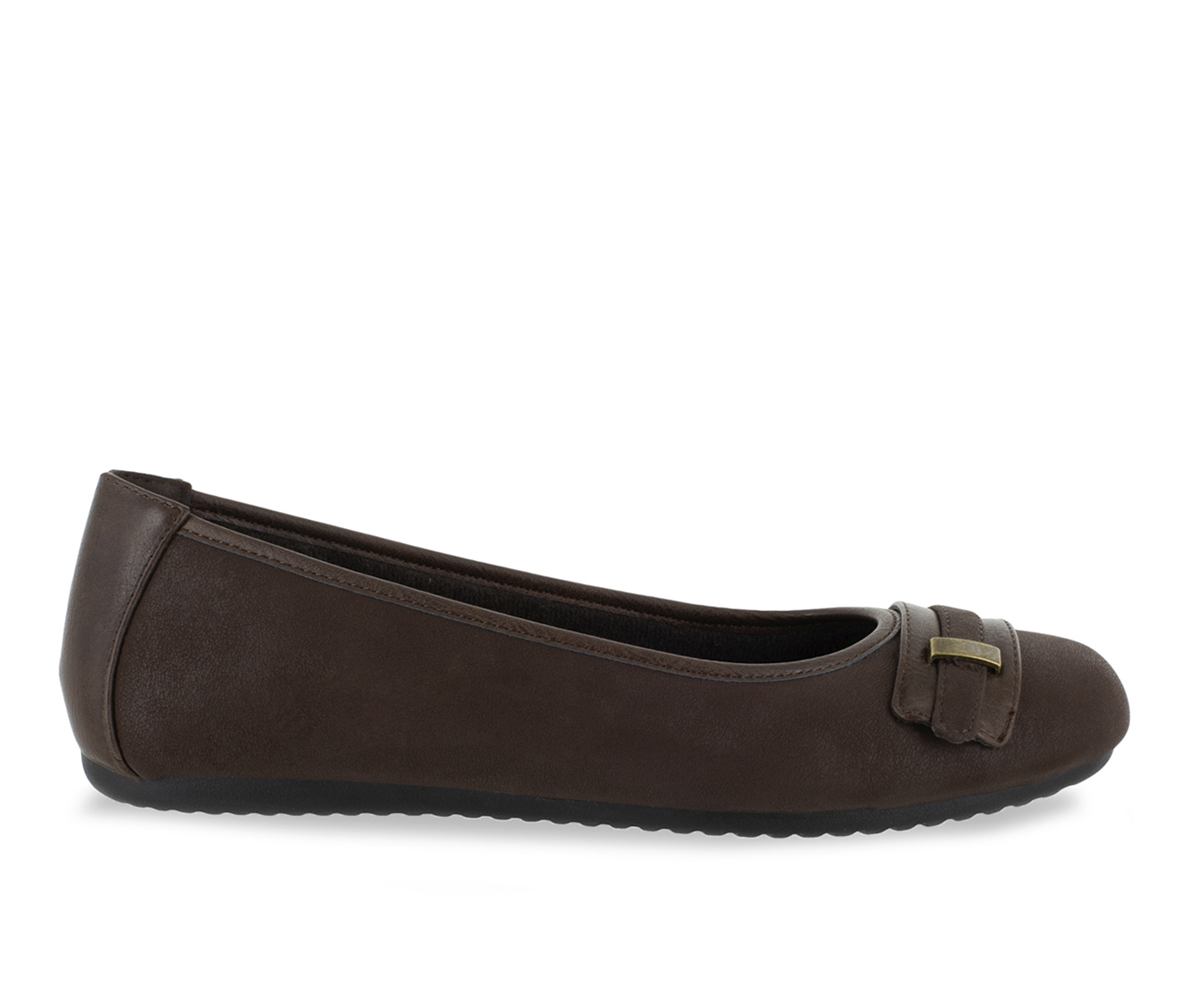 Easy Street Angie Women's Shoe (Brown Faux Leather)