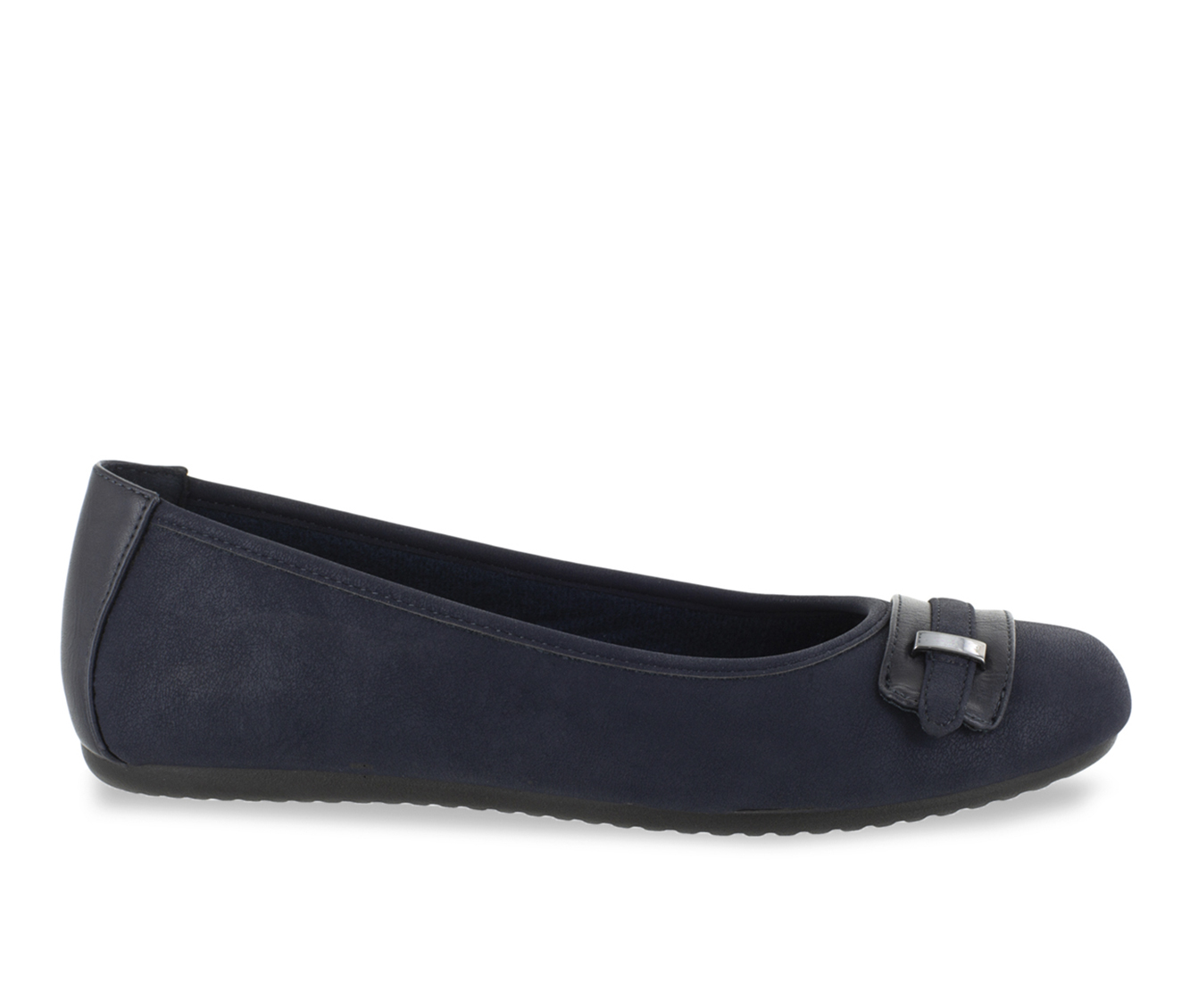 Easy Street Angie Women's Shoe (Blue Faux Leather)
