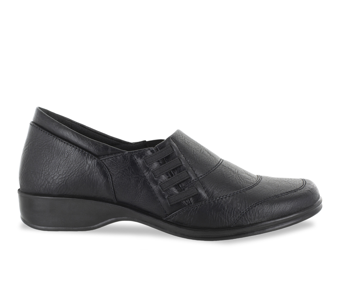 Easy Street Avenue Women's Shoe (Black Faux Leather)