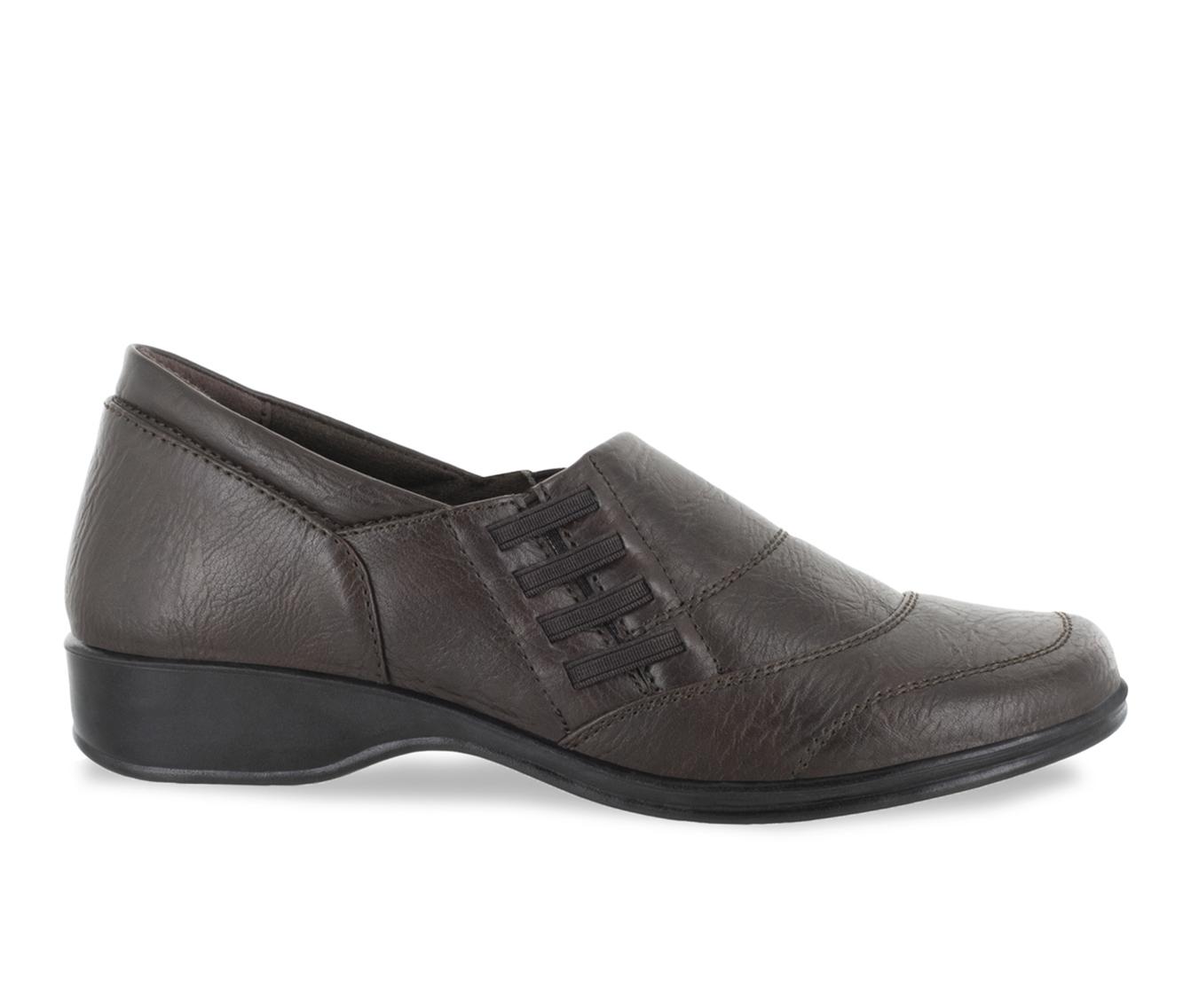 Easy Street Avenue Women's Shoe (Brown Faux Leather)
