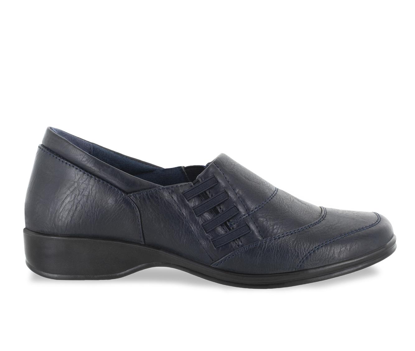 Easy Street Avenue Women's Shoe (Blue Faux Leather)