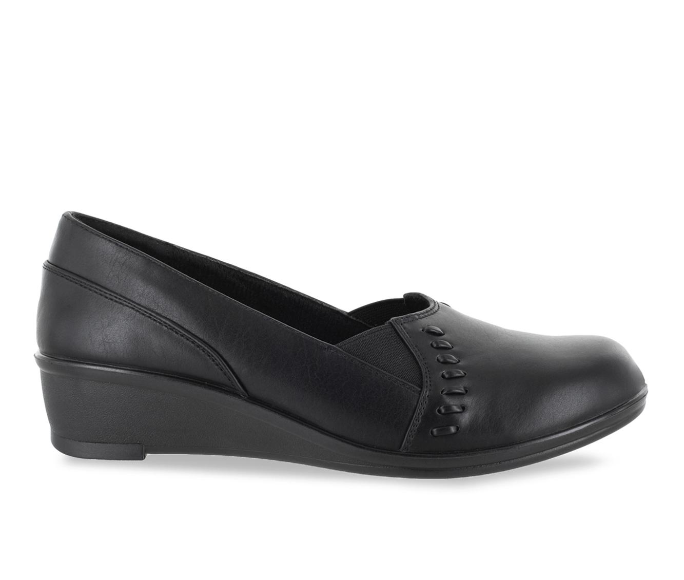 Easy Street Story Women's Shoe (Black Faux Leather)