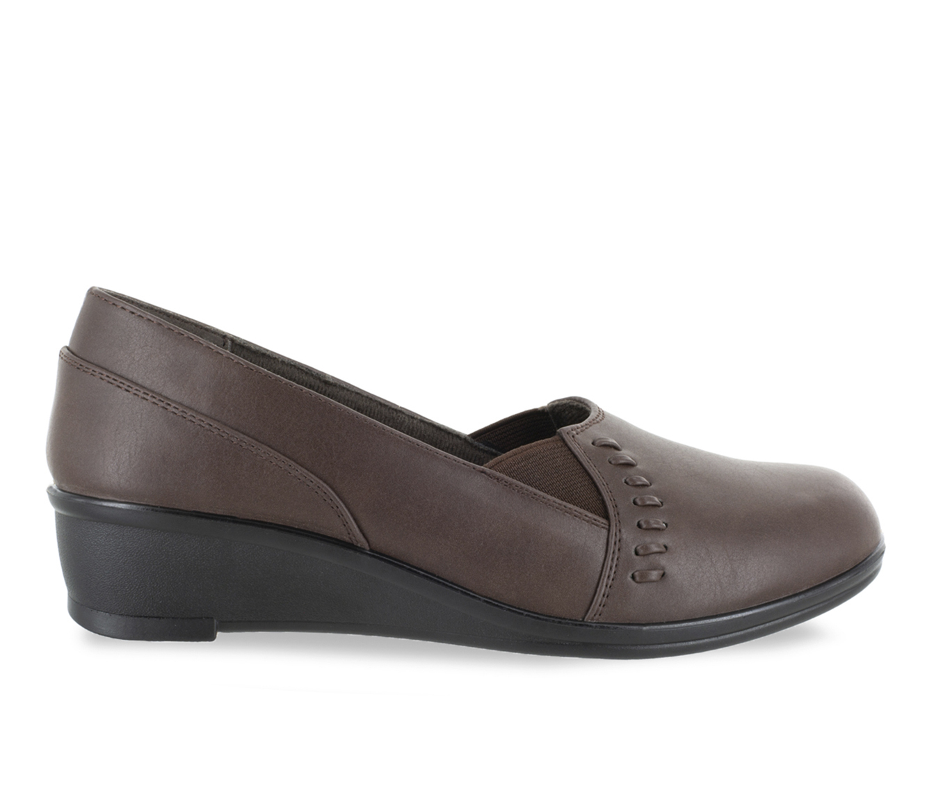 Easy Street Story Women's Shoe (Brown Faux Leather)