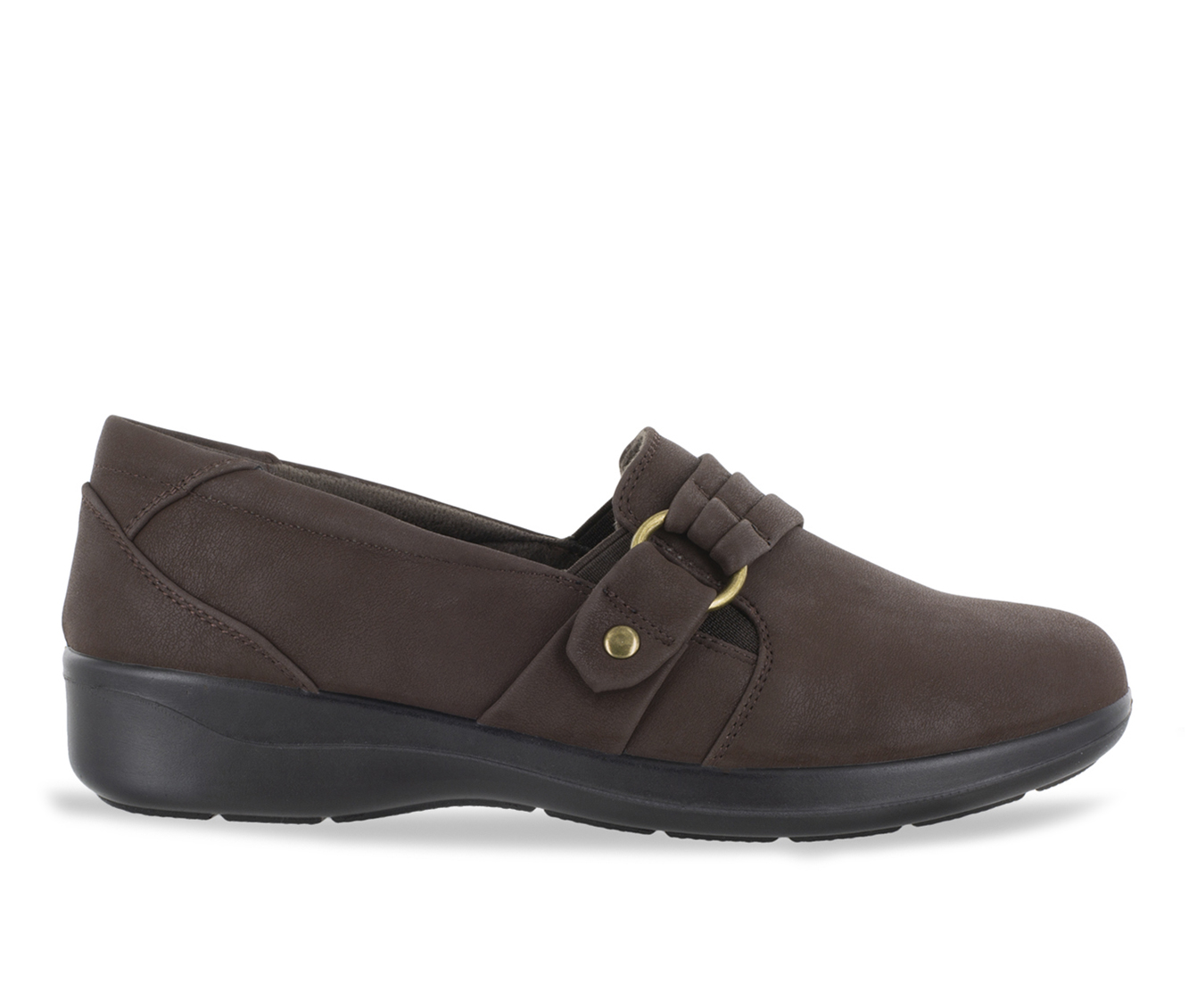 Easy Street Tully Women's Shoe (Brown Faux Leather)