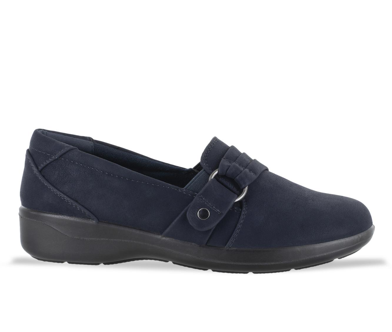 Easy Street Tully Women's Shoe (Blue Faux Leather)