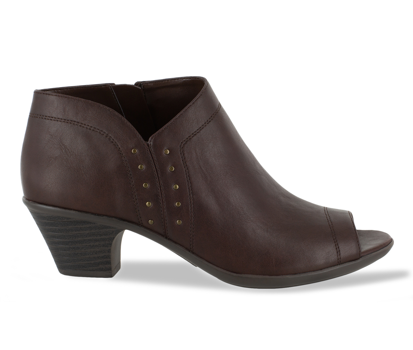 Easy Street Voyage Women's Shoe (Brown Faux Leather)