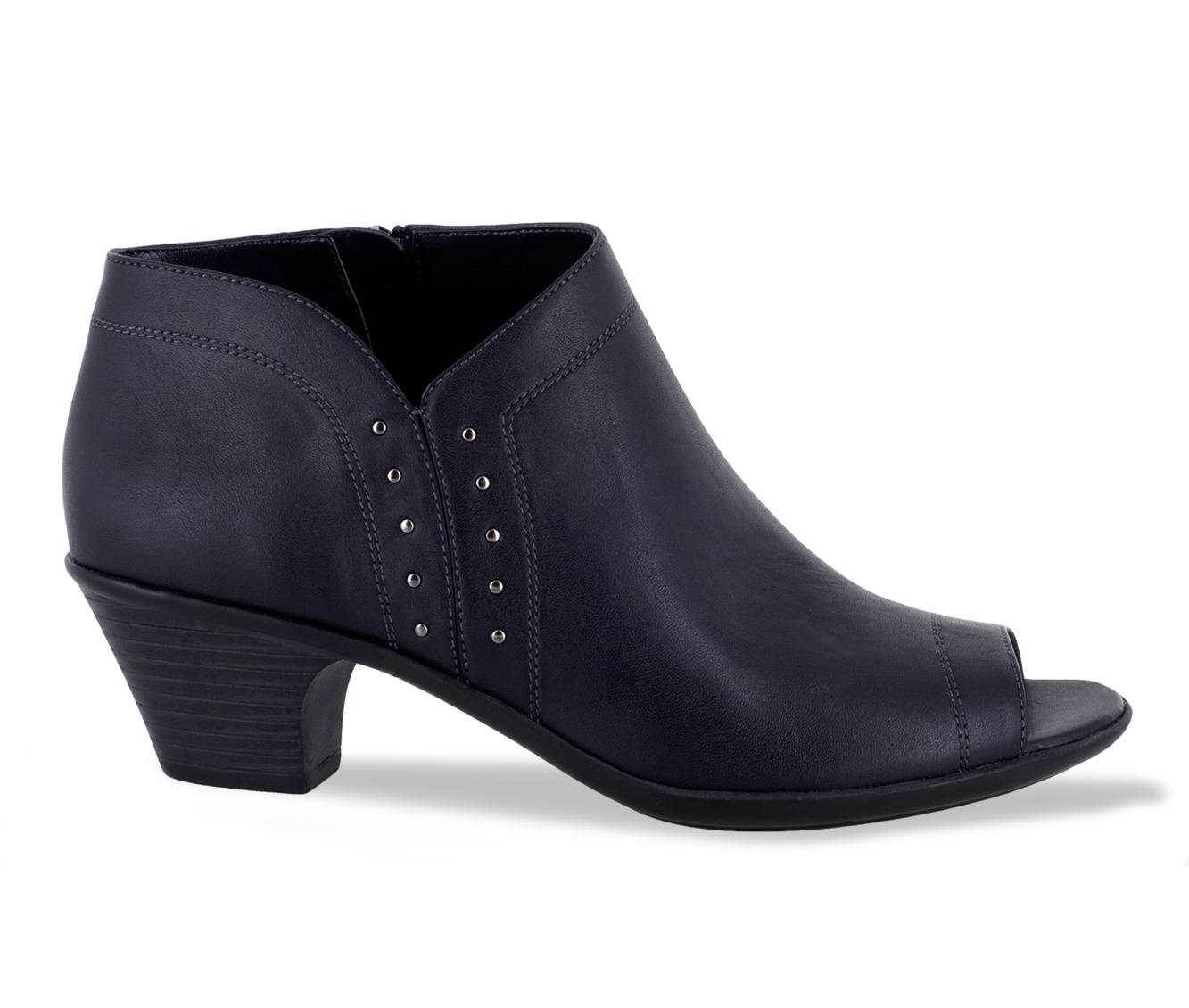 Easy Street Voyage Women's Shoe (Blue Faux Leather)