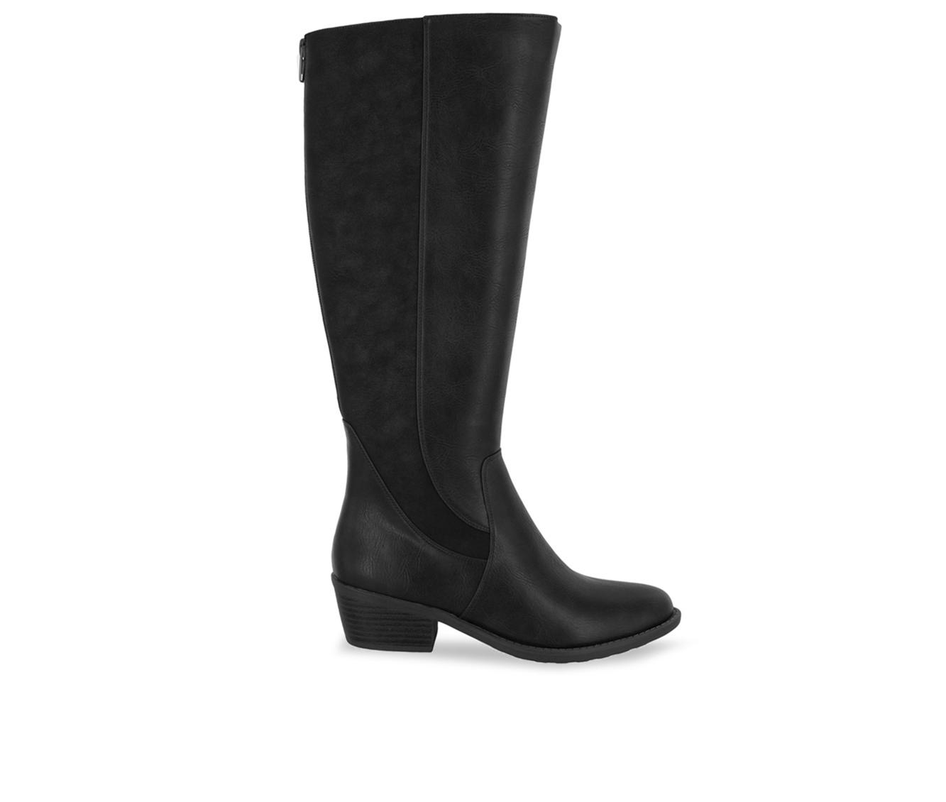 Easy Street Cortland Women's Boot (Black Faux Leather)