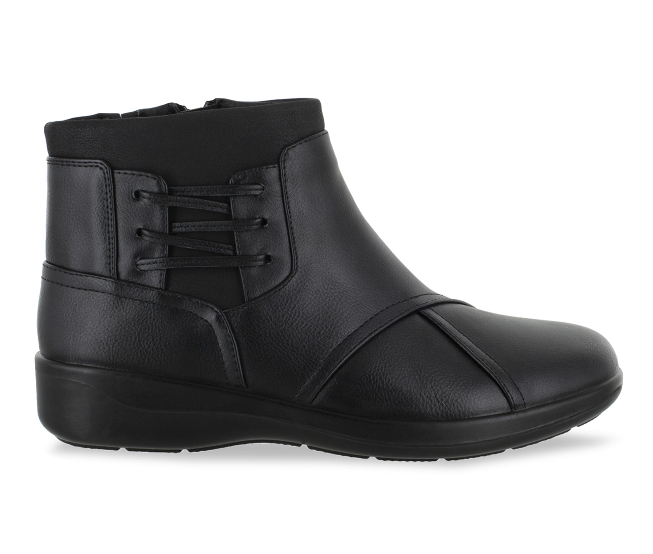 Easy Street Guild Women's Boots (Black - Faux Leather)
