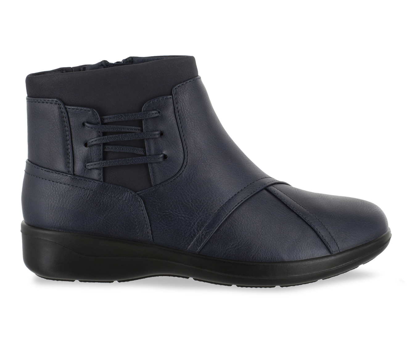Easy Street Guild Women's Boot (Blue Faux Leather)