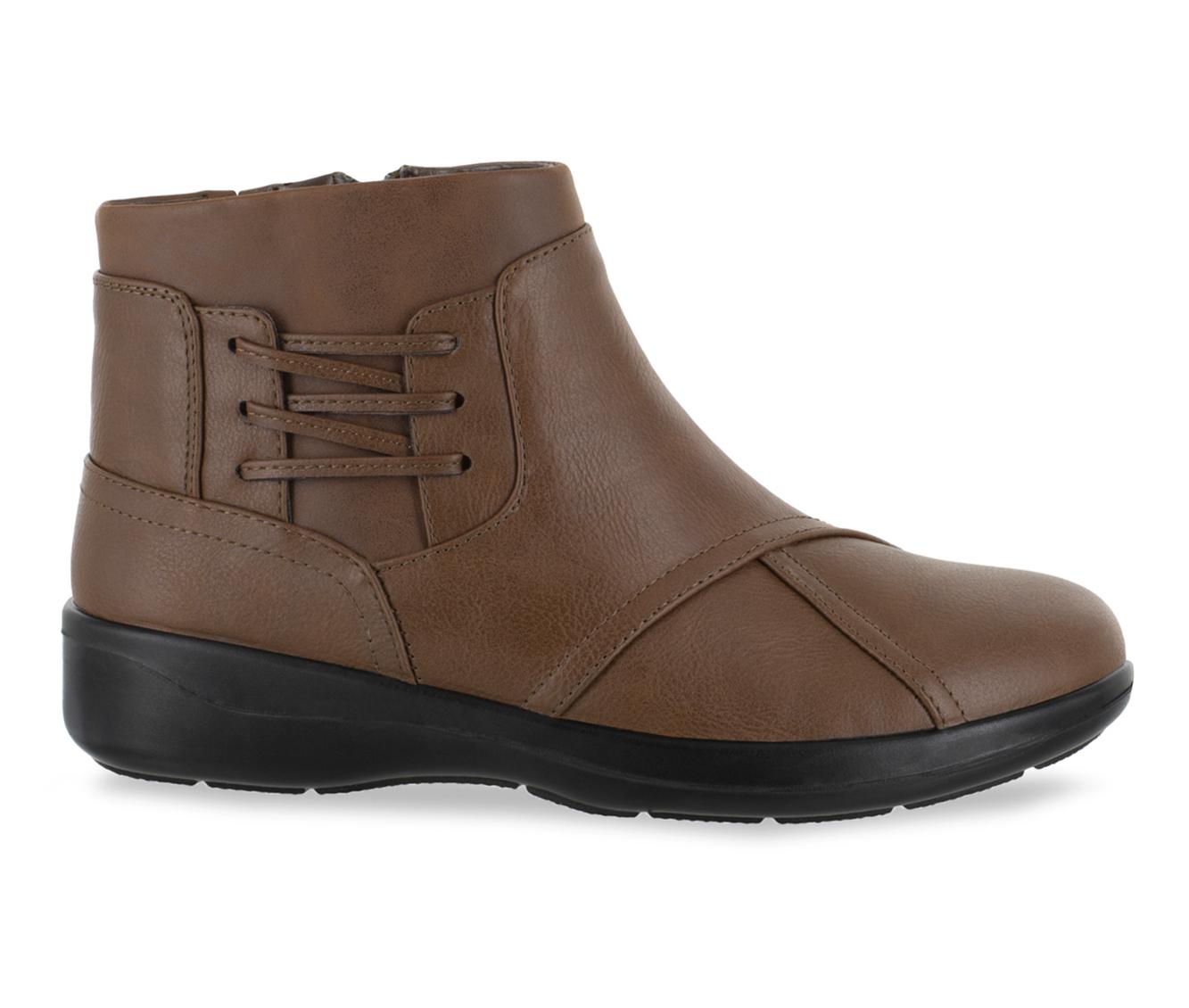 Easy Street Guild Women's Boot (Beige Faux Leather)
