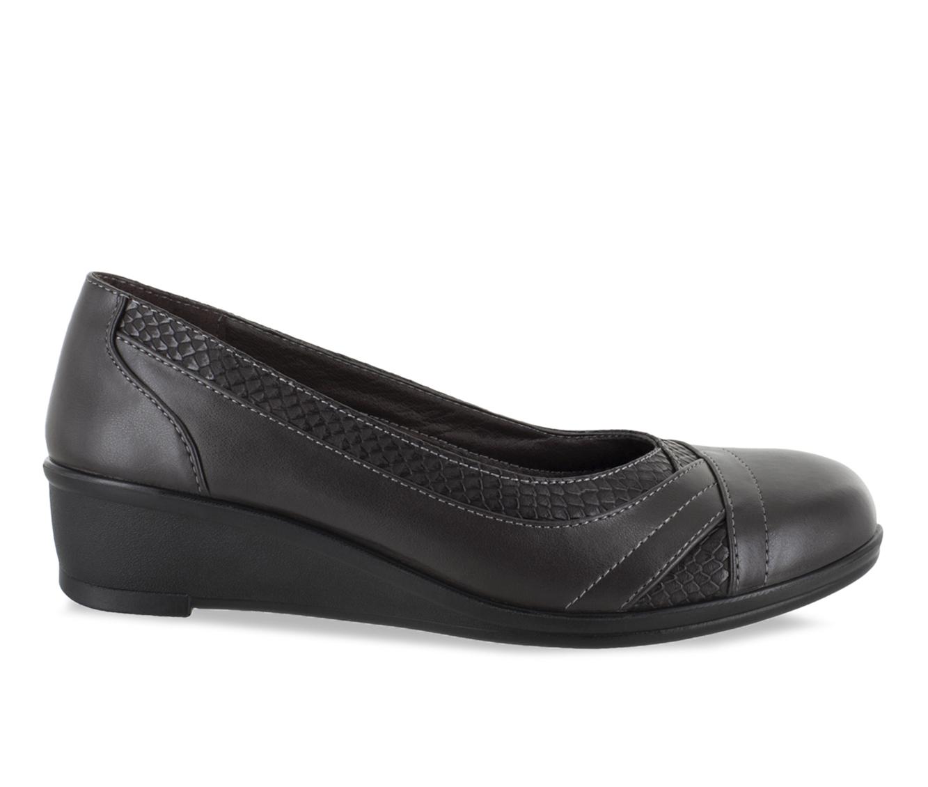 Easy Street Dena Women's Shoe (Brown Faux Leather)