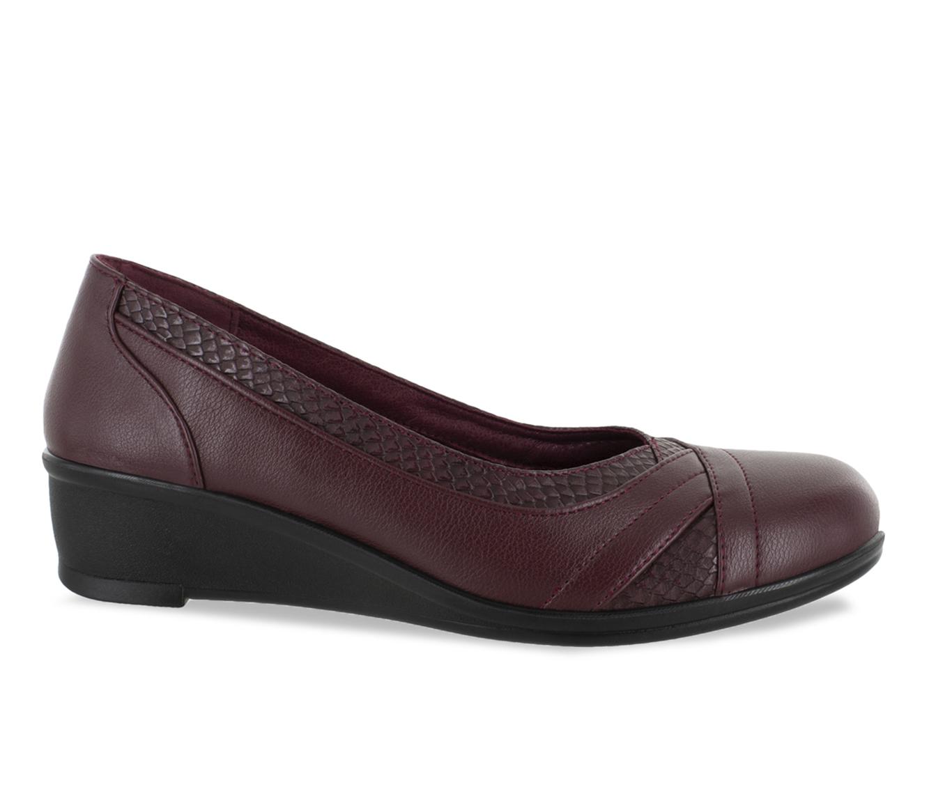 Easy Street Dena Women's Shoe (Red Faux Leather)