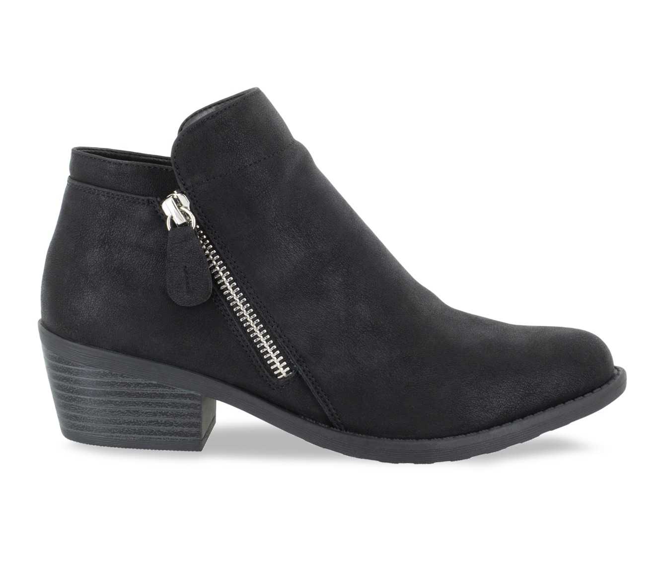 Easy Street Gusto Women's Boot (Black Canvas)