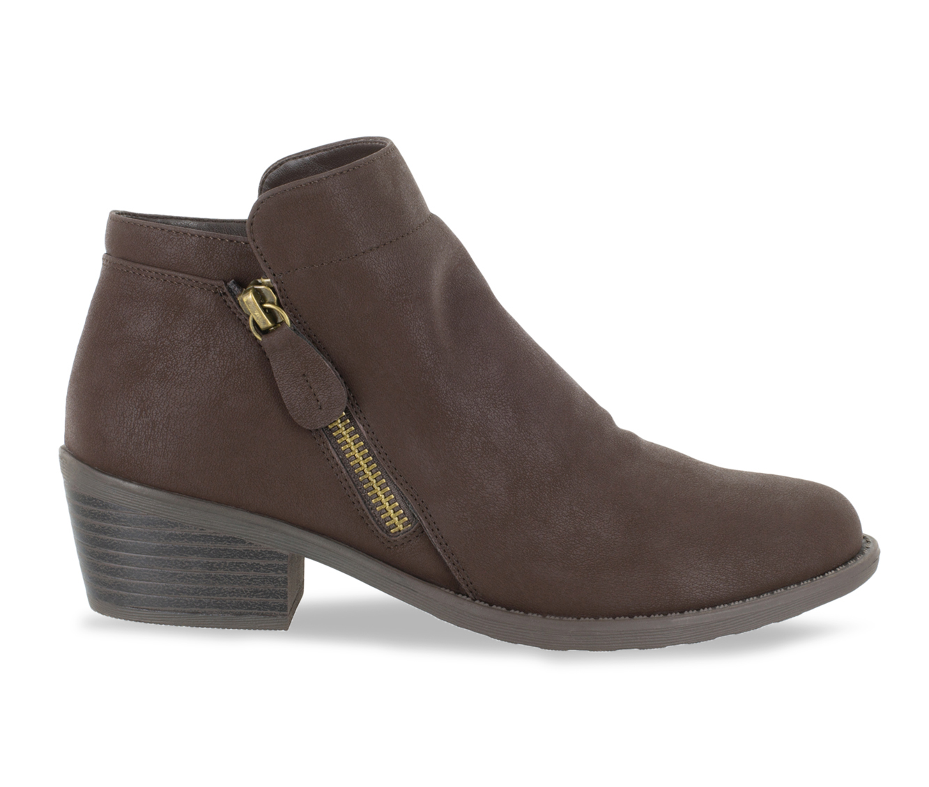 Easy Street Gusto Women's Boot (Brown Canvas)