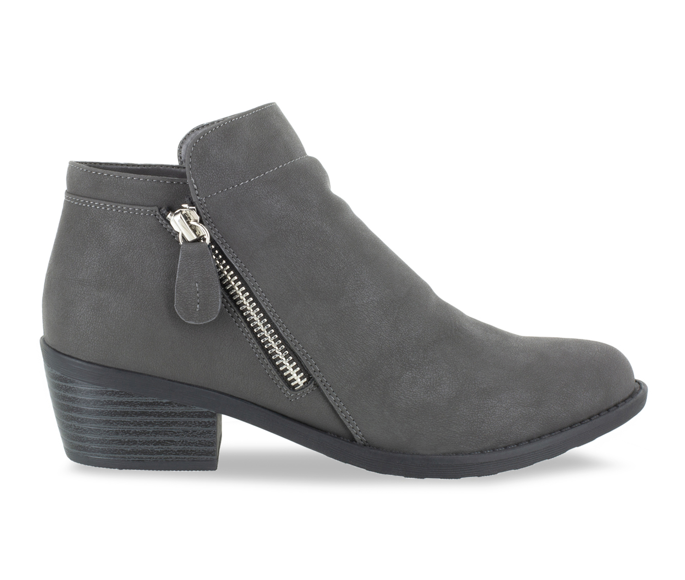 Easy Street Gusto Women's Boot (Gray Canvas)