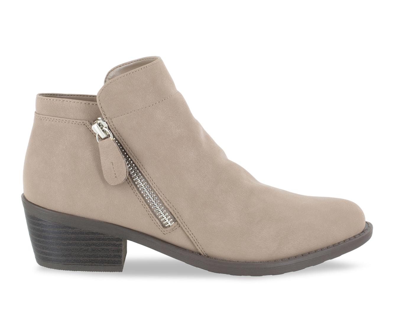 Easy Street Gusto Women's Boots (Beige - Canvas)