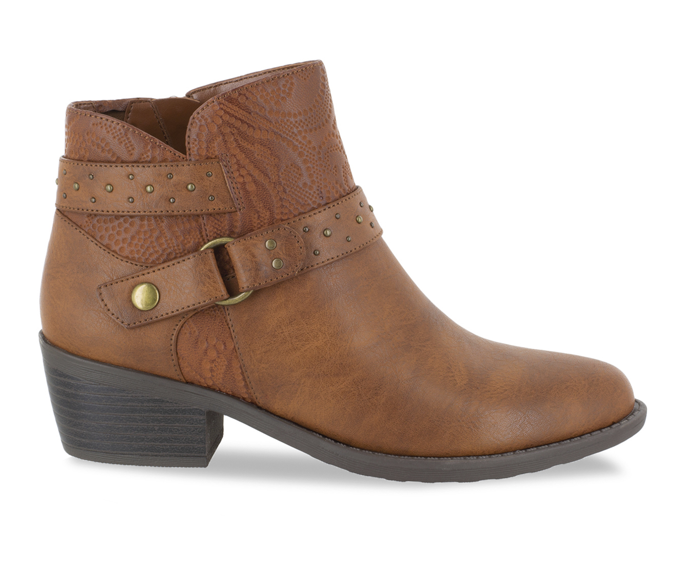 Easy Street Leda Women's Boots (Brown - Faux Leather)